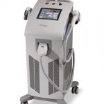 The tool we use to conduct laser hair removal procedures at our St. Louis location.